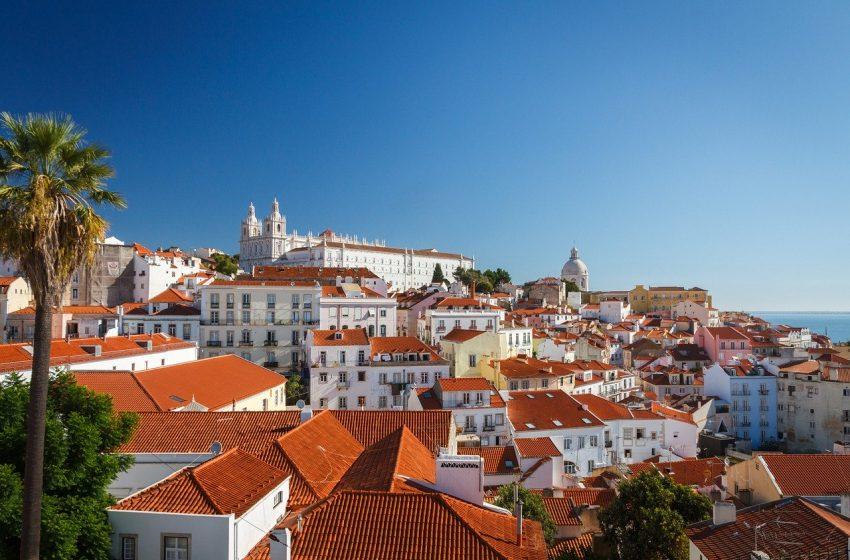 העיר ליסבון פורטוגל