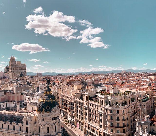 העיר מדריד ספרד