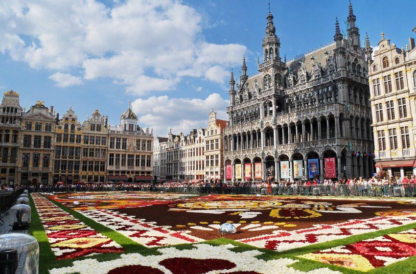 העיר בריסל בלגיה